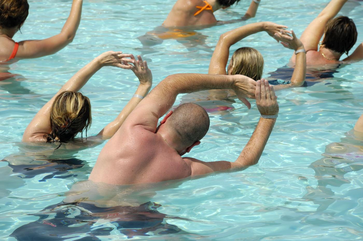 Aqua-Fitness für Mutti & Vati